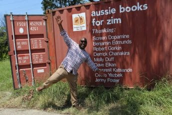 In The Media: A large shipment of books, furniture and stationary will help set up dozens of new libraries in Zimbabwe