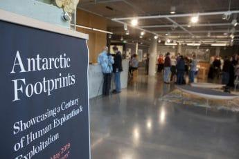 Event: Antarctic Footprints Exhibition Launch