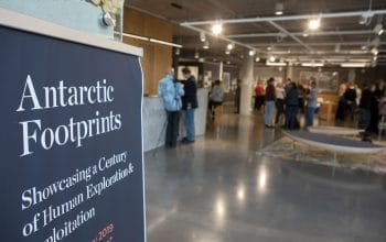 Event: Antarctic Footprints Exhibition Launch
