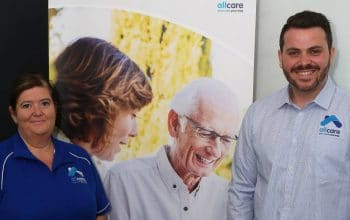 Gong startup allcare is looking for ways to change aged care for people who want to stay at home and make it better