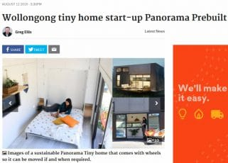 Wollongong tiny home start-up Panorama Prebuilt