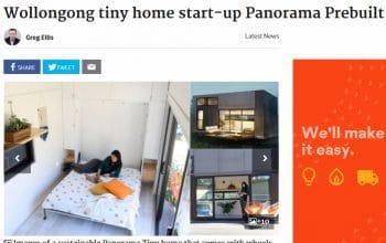 Wollongong tiny home start-up Panorama Prebuilt