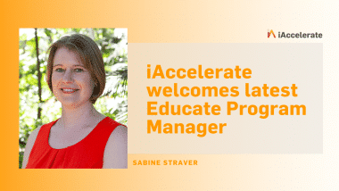 iAccelerate welcomes latest Educate Program Manager