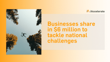 Businesses share in $6 million to tackle national challenges