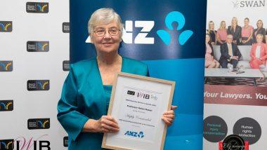 Helen Hasan awarded IWIB Illawarra Business Women's Award