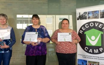 """Graduation Day for Recovery Camp's Online Course, """"Being Self Determined"""""""