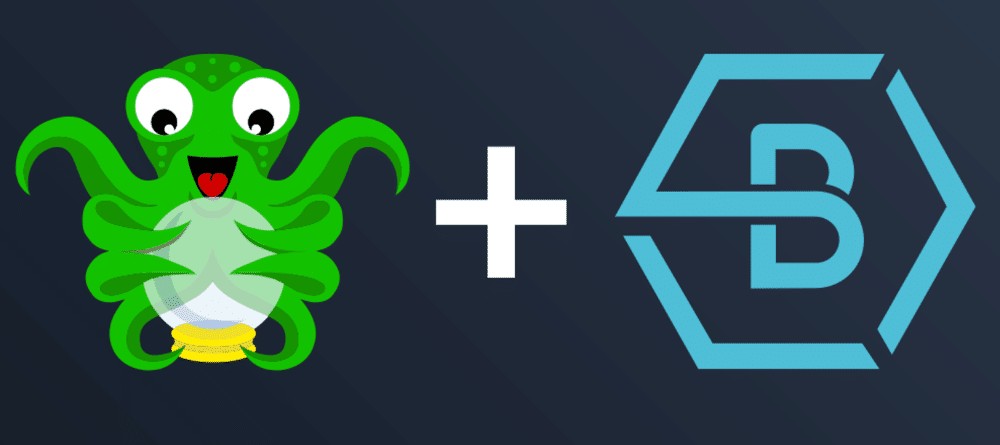 Octopus and buildbee logo